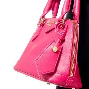 Samantha Thavasa Bags - Samantha Vega hot pink rhinestone crossbody purse